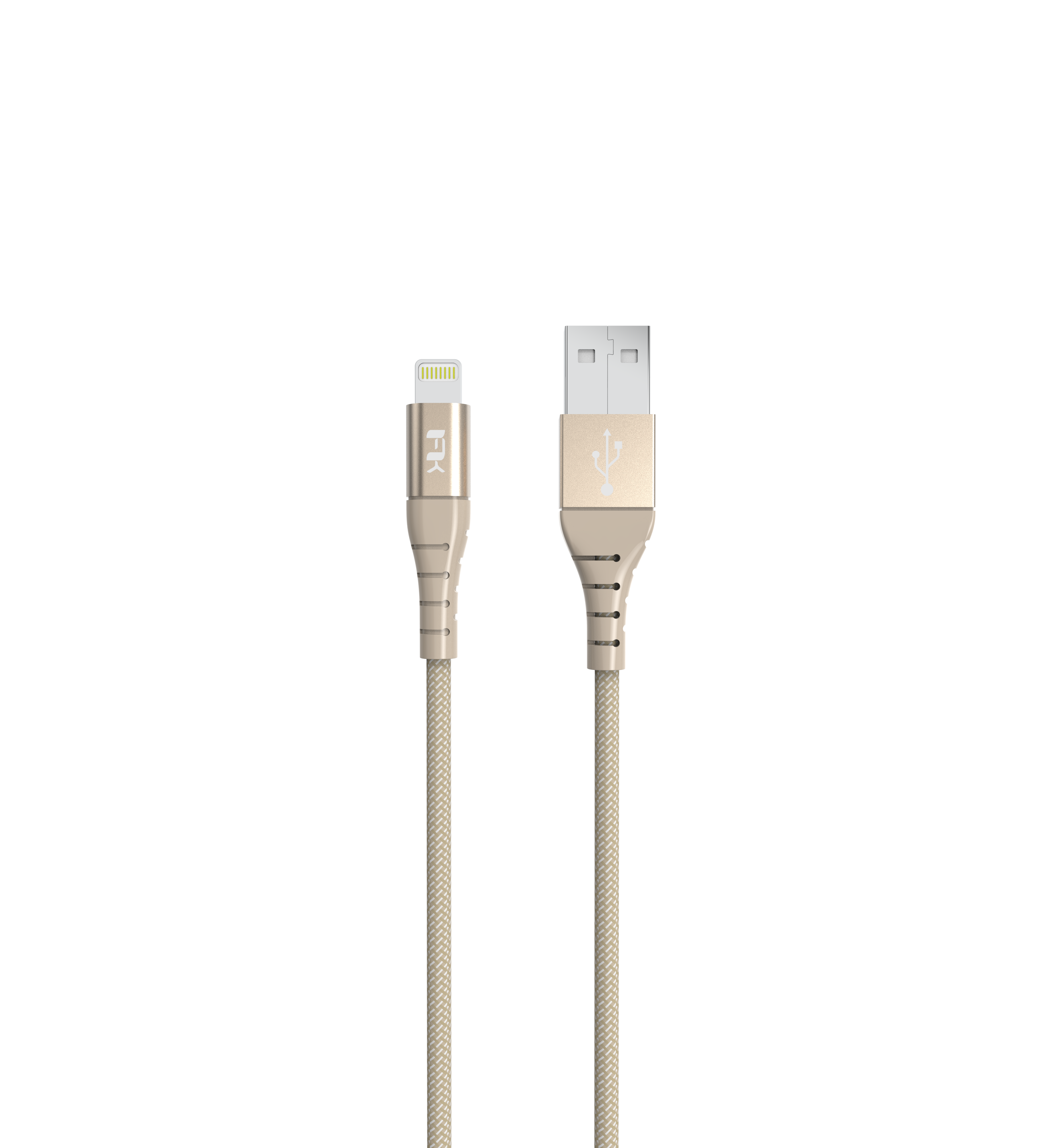 Dây Cáp Sạc USB Type A to Lightning Cho Iphone Feeltek 1m8 (Gold)